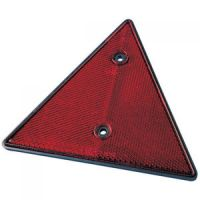 TRIGANO Trigano 2x Katoog Rood Triangle 159x139x7
