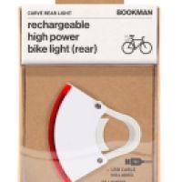 BOOKMAN Bookman Curve Rear Light White