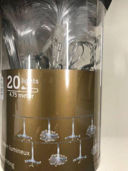 Lumineo Fiber Bloem 4.75m 20l Snoer 4.75m-20l Tr