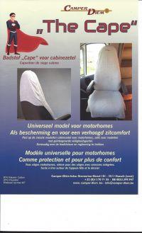 CAMPER-DIEM Camper-diem Hoes Beige Voor Cabinezetel Motorhome