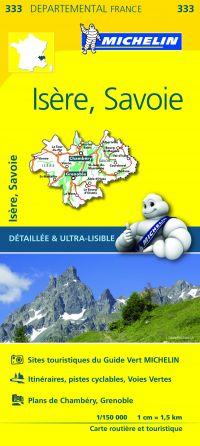 MICHELIN Michelin Isere/savoie 11333 Provinciekaart