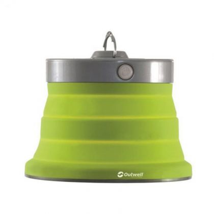 Outwell Lamp Polaris Lime Green 6aa