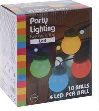 Lichtslinger Led 10 Lampen Multicolor
