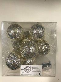 VELLIGHT Vellight Lichtslinger Led 10 Metalen Bollen