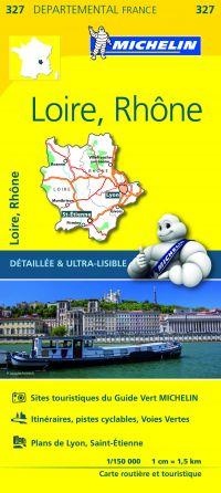 MICHELIN Michelin Loire/rhone 11327 Provinciekaart