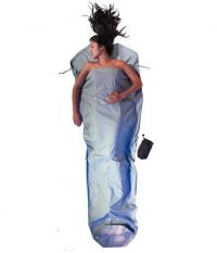 COCOON Cocoon Mummy Liner 100% Coton Cactus Bleu