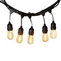 LEDR Ledr Premium Patio Lights Ext Edison Bulbs