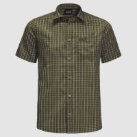 JACK WOLFSKIN Jack Wolfskin Shirt El Dorado S Men Dark Moss Checks