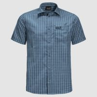 JACK WOLFSKIN Jack Wolfskin Shirt El Dorado S Men Night Blue Checks