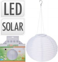 Solar Lamp Lampion Wit