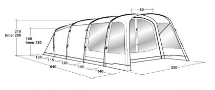 Outwell Tent Greenwood 5