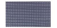 DOREMA Dorema Tenttapijt 250x400cm Blauw Starlon