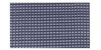 DOREMA Dorema Tenttapijt 250x500cm Blauw Starlon