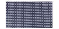 DOREMA Dorema Tenttapijt 300x400cm Blauw Starlon