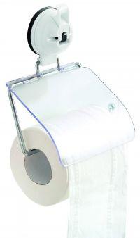 EUROTRAIL Eurotrail Toiletrolhouder Met Zuignap Wit Euro Tra
