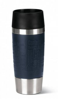 EMSA Emsa Travel Mug 0.36l Blauw Silicone