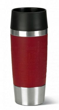 EMSA Emsa Travel Mug 0.36l Rood Silicone
