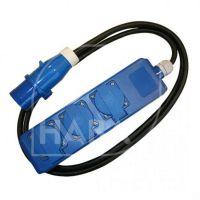HABA Haba Triple-unit + Cee Stekker 3x1.5mm