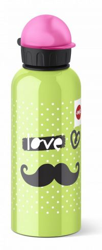 EMSA Emsa Veldfles 0.6l Moustache Teens